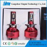 Kit automatico della lampada della testa dell'automobile della lampadina 25W LED del faro del LED H4