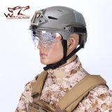 명확한 챙 모터 십자가 헬멧을%s 가진 Emerson Exf 융기 방풍 헬멧