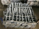 足場鋼鉄調節可能なねじジャック電流を通されたベース(TPSFSSJ001)