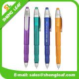 Pluma de plástico de bajo precio bolígrafo de logotipo personalizado (SLF-PP049)