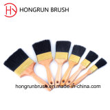 Деревянная щетка краски ручки (HYW0332)