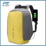 Мешок похищения Backpack холстины анти- с загрузочным люком USB