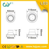 긴 일생 SMD2835 3W 5W 7W 9W LED Downlight