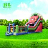 Герой цвет надувной Bouncer слайд для детей