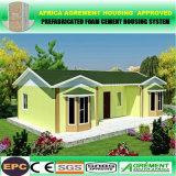 Chambre portative préfabriquée préfabriquée économique de villa de maison modulaire de système solaire