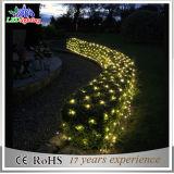 Indicatore luminoso della rete di festa dell'indicatore luminoso della stringa della decorazione di natale per il giardino