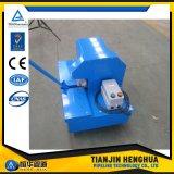 使用された油圧ホースの打抜き機