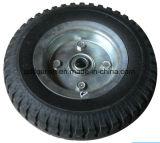 빵꾸 증거 폴리우레탄 트롤리를 위한 편평한 자유로운 PU 거품 바퀴