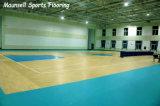 10 couleurs Sports PVC-de-chaussée pour l'intérieur et d'autres terrains de sports Basket-ball de l'exportation au marché américain