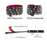 DC5V USB LED 지구 5050 RGB 방수 유연한 빛 1m 2m 텔레비젼 배경 점화 RGB LED 지구 접착 테이프 IP20 IP65