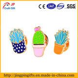 Цветки женщин милые, Pin отворотом кактуса для шарфа, одежд