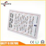 Дешевая карточка PVC цены для дела/промотирования/подарка/верноподданности