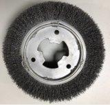 Специализированные промышленные щетки вращающегося пылесборника колес для железнодорожного пути совместного абразивного полирования