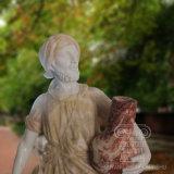 Gute Preis-Hand geschnitzte Marmorabbildung Statue für Dekoration