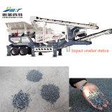 Preço máquina trituradora de impacto móvel, planta de britador de pedra móvel de impacto
