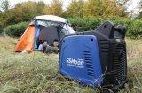12 볼트 DC 휴대용 힘 대기 가솔린 전기 발전기