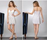 Pijamas de seda atractivos Sy10302002 de la ropa de noche de las mujeres al por mayor de la camisa de dormir