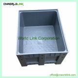 Transport HDPE der Industrie-1000kgs beiliegende Plastikkasten-Ladeplatte