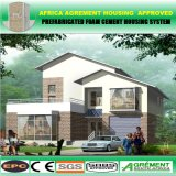 유리를 가진 주문을 받아서 만들어진 Prefabricated 조립식 모듈 별장 아파트 건물 홈