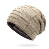 人のための両面の摩耗の冬の帽子のSkulliesの帽子のニットの帽子