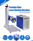 PVC /Numbers /Metal /Pen/ горячего сбывания Кодего логоса/даты/стальная машина маркировки лазера Ipg