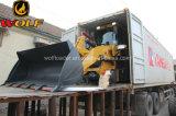 Material de construcción cargador de las partes frontales de 2 toneladas con Mulcher