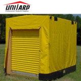 750g/m² Palet Heavy Duty cubierta de lona de PVC cubierta de palet
