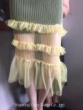Neue Form-Frauen-Fußleiste, die Stickerei-Gewebe kleidet