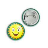 значок 38mm Competitive Factory Plastic Bottom Tin Button