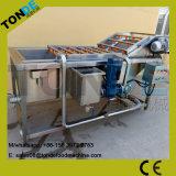 Máquina de la limpieza vegetal de la lavadora de las frutas y verdura de la burbuja de aire