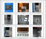 печатание машины маркировки лазера волокна 20W на обеспеченности металла пластичной герметизирует печатание лазера