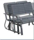 レジャーパークのベンチ、屋外の家具のベンチ