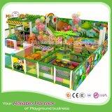 Cour de jeu Equipmment de village de fleur de place d'enfants de thème de jungle