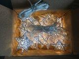10 теплый белый светодиод металлические Star волшебная лампа аккумуляторной батареи