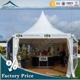 Clear Span Structureの5X5m再配置可能なBusiness Commercial Glass Wall Pagoda Tent