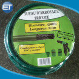 Anti-Mildew Non-Torsion anticorrosion de l'eau de jardin en PVC flexible avec buse de pulvérisation réglable