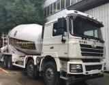 Shacman 8*4 15m3 구체적인 납품 믹서 드럼 롤러 트럭 35t 교반기 화물 자동차 트럭