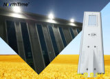 IP65 Smart 40W LED Solar Street Lamp with Battery Lithium