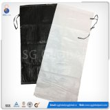 """14 estabilizado contra raios UV """"*26'' Sandbag Tecidos de PP preto com cintas"""