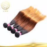 Bestes verkaufenfarben-Haar 100% des Jungfrau-indisches gerade Ton-drei