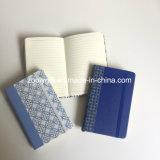 Тетрадь повестки дня дневника плановика PU печатание полного цвета A6 ежедневные с эластичной резиновой лентой и легкие срывают страницы