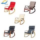 머리 받침을%s 가진 가정 나무로 되는 간단한 작풍 흔들 의자