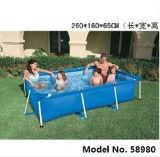 Het Langwerpige Opblaasbare Zwembad van uitstekende kwaliteit, de Opblaasbare Zwemmende Dia van het Water