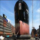 Boas bolsas a ar do navio da capacidade de rolamento para a doca seca de flutuação
