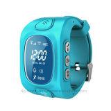 휴대용 Smart Kids 또는 SIM Card Slot를 가진 Child GPS Tracker Watch