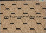 El asfalto azulejos para techo de concreto con varios colores