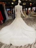 Атласная белая плакатная бумага Aolanes Aoliweiya вышитого тюля с квадратной шейкой свадебные платья110911