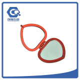 Qualitäts-schönes Metalleinzelner gegenübergestellter Decklack-Minihandspiegel für Frauen