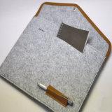 Klassischer Wolle-Filz Meterail Laptop-Beutel