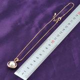 Элегантные украшения Позолоченные Crystal Pearl подвесная цепочка